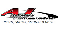 A.J. Custom Installation Blinds, Shades, Shutters & More...