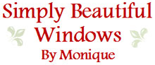 SIMPLY BEAUTIFUL WINDOWS BY MONIQUE